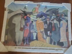 Churchill Downs 128th Kentucky Derby 2002 Official Poster Laminated -- Brand New