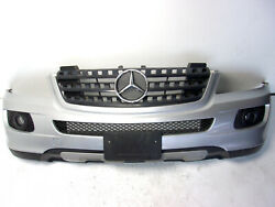 06-08 Mercedes W164 Ml320 Ml350 Front Bumper Cover Full Assembly Silver Oem