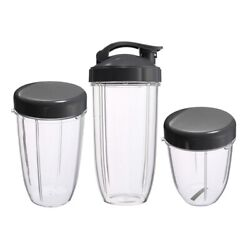 30x3pcs Replacement Cups 32 Oz Colossal +24 Oz Tall +18oz Small Cup+3 Lids For