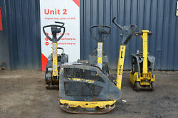 Bomag Bpr 35/42d Electric Starter Reversible Vibratory Plate Compactor Andpound1950+vat