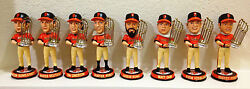 2012 Sf Giants World Series Champs Bobbleheads, Complete Set Of 9