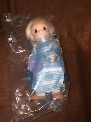1998 Precious Moments Doll Musical Angel Plays Andldquoyou Light Up My Lifeandrdquo New Bx