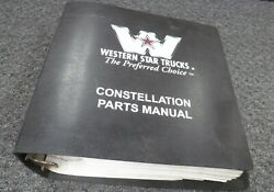 1998 Western Star 3842 3864 3842s 3864s 3864s-n Truck Parts Catalog Manual