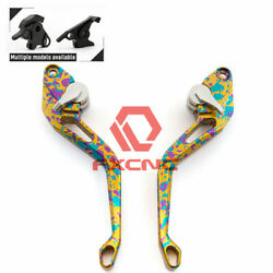 Cnc Gold 3d Short Camouflage Brake Clutch Lever For G650gs 2008-2016 15