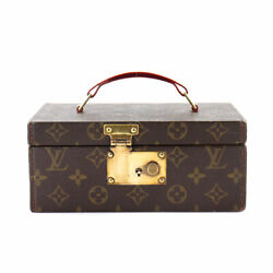 Louis Vuitton Monogram Boat A To Jewelry Case Hand Bag M47236 Purse 90120956