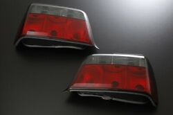 Sonar Tail Lamp Red And Smoke For Bmw E36 1991-1998 3 Series Sedan