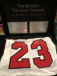 1984 Mitchell And Ness Michael Jordan Boxed Chicago Bulls Jersey Size 44/l