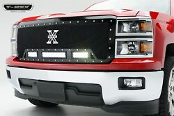 T-rex Grilles 6311181 Torch Series Led Light Grille Fits 14-15 Silverado 1500