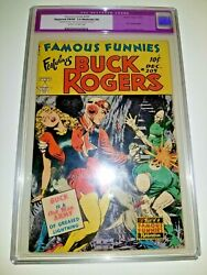 Famous Funnies 209 Cgc 7.0 R Old Label Classic Frazetta Cover
