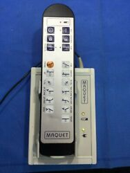 Maquet 3113.1269 Remote Control W/ Charger 3110.26e9 For Or/surgical Table A/kp