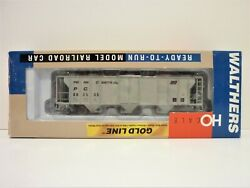 Ho Walthers Nib 2893 Cu Ft Penn Central Covered Hopper 883505