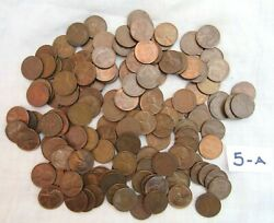 Lot 148 1951 Lincoln Copper Wheat Pennies From Estate Us Coins Unsearched