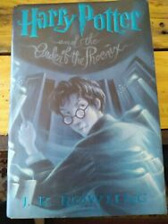 Harry Potter And The Order Of The Phoenix 1st Edition 1st Printing Hardcover