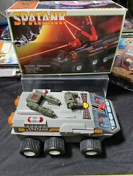 Spatank Moon Patrol Battery Operated Brand New Vintage Years Andlsquo80