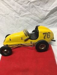 Early Vintage Gas Powered Ohlsson And Rice Tether Car 76 Super Nice Original