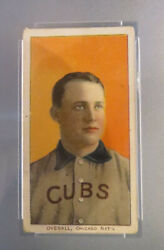 1909 T206 Orval Overall Portrait Cubs Psa 2.5 - Good