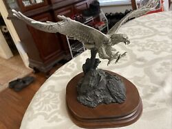 Vtg/collectible Chilmark-1983 Triumphant Glory Fine Pewter Usa Limited Ed