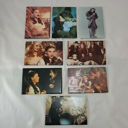 Lot Of 8 Wizard Of Oz Movie Scenes Refrigerator Magnets By Ata-boy - C. 1990's