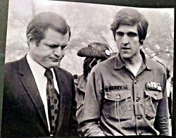 John Kerry Secretary Of State Boston Signed Autographed 8x10 Photo W Ted Kennedy