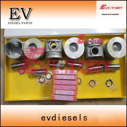 For Toyota 6f 7f Forklift Engine Overhal 13z Piston And Piston Ring Set