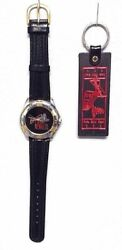 1994 Rolling Stones Voodoo Lounge Tour Watch And Ticket Stub Keychain Budweiser