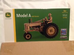 Rare Gold Ertl 75th Anniversary John Deere 1/32 Model A Tractor 1 Of Only 750