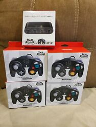 Nintendo Official Gamecube Controller Super Smash Bros 4x And Switch Adapter