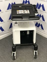 Ge Logiq E Btand03912 Rolling Cart / Docking Station Beautiful Condition