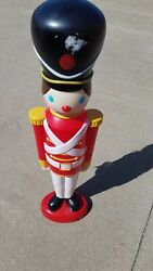 Vintage Toy Soldier 42 Blow Mold
