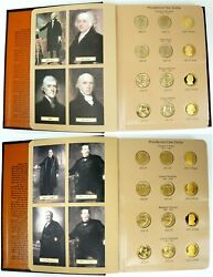 2007-2016 United States Presidential 1 One Dollar Mint/proof Coins Set Dansco