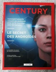 Detroit Become Human Century Magazine Limited Edition Of 5000 French Exclusivity