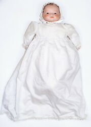 Antique Grace S Putnam Bisque Head And Cloth Body Bye Lo Baby Doll