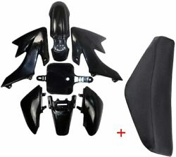 Plastic Body Fairing Kit And Tall Seat For Crf50 Xr50 50cc-125cc Dirt Pit Bike