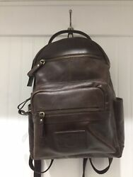Rawlings RS10057 Medium Leather Backpack Brown **Free Shipping ** $99.99