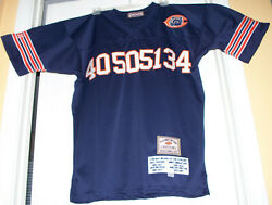 Chicago Bears Players Of The Century Jersey Xl 52