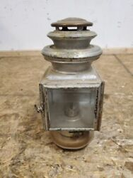 1913 - 1914 Ford Model T Black And Brass Jno W. Brown Cowl Light Model 110