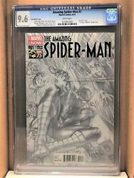 Amazing Spiderman 1 Ross 1300 Variant Cgc 9.6 1st Cindy Moon, Becomes Silk 6/14