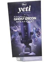 Blue Microphones Yeti Usb Mic Blackout And Tom Clancys Ghost Recon Breakpoint