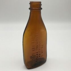 1941 Dr. Price's Delicious Flavoring Extracts Des. Pat. 128402 Brown Bottle