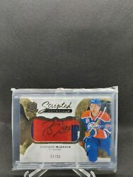 Connor Mcdavid 2016-17 Upper Deck The Cup Scripted Materials /35