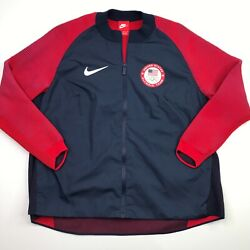 Nike Womenandrsquos Olympic Team Usa Dynamic Reveal Jacket Size Xl 809541-451 Msrp 300