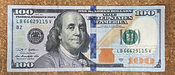 2009 Devil's Note One Hundred Dollar Bill Federal Reserve Note 666 Serial Number