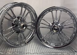 Indian Scout 2014 -2020 Rims Scout Sixty Chrome Wheels, Front And Rear Outright