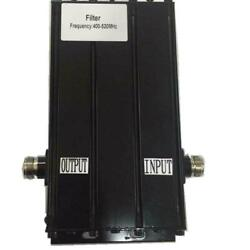 Rf Bandpass Filter Preselector N Connector Receive Multip Coupler Uhf400-520mhz