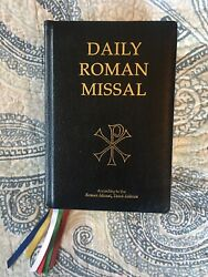 Daily Roman Missal Seventh Edition Third Printing. Bonded Leather 2010