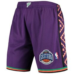 Mitchell And Ness Nba All-star Game 1995 Eastern Conference Pattern Purple Shorts