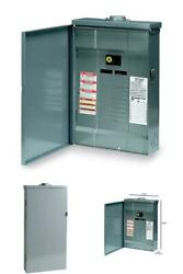 Qo 100 Amp 20-space 24-circuit Outdoor Main Breaker Plug-on Neutral Load Center