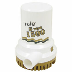 Rule 04 1500 Gph Gold Series Non Automatic 5 Year Warranty