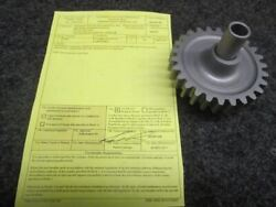 Lw-10296 Lycoming Io-360 Crank Gear And Shaft W/8130-3
