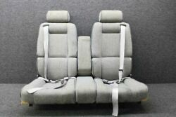 49210-501 / 49042-1 Rockwell 112b Seat Assy Aft W/ Armrest And 3 Point Seat Belts